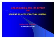 URBANIZATION AND ITS EFFECT ON