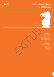 ENTRETENIMENTO e OFERTAS 2013 - Exitus