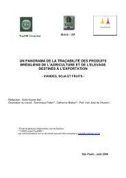 un panorama de la traçabilité des produits ... - CenDoTeC