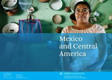 Mexico and Central America - Ford Foundation