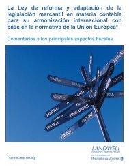 La Ley de reforma y adaptación de la legislación mercantil en ... - pwc