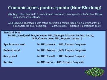 Comunicações ponto-a-ponto (Non-Blocking) - Nautilus