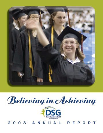2 0 0 8 annualreport - Down Syndrome Guild of Greater Kansas City