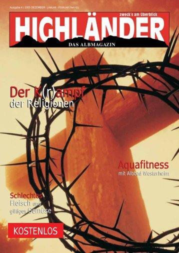 Der K(r) - Highländer Albmagazin