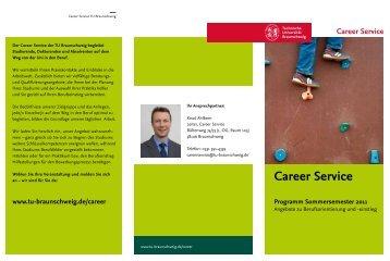 Sommersemester 2011 - TU Braunschweig CareerService