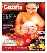 Vinhoterapia - Gazeta Niteroiense
