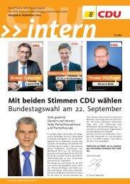 09 CDU Intern Ausgabe September 2013.pdf - CDU-Ortsverein