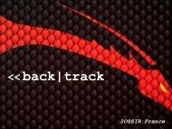 Back|Track international project - OSSIR