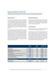 Konzernjahresabschluss - Geschäftsbericht 2007