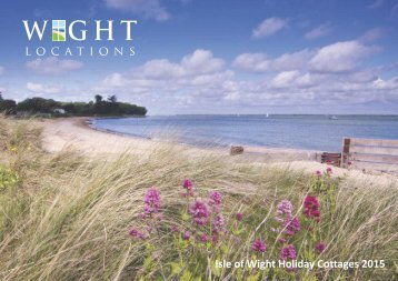 Wight Locations 2015 Holiday Cottages
