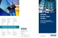 Broschüre Netzbetrieb Service - STEAG Power Saar GmbH