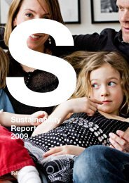 Sustainability Report 2009 - Folksam