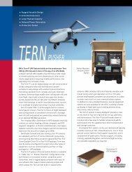 Tern Pusher UAV System - Unmanned Aircraft & Drones