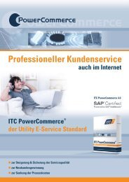 Professioneller Kundenservice - ITC AG