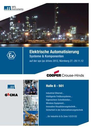 Elektrische Automatisierung - MTL Instruments