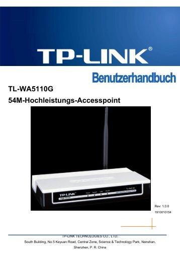 Bemerkung - TP-Link