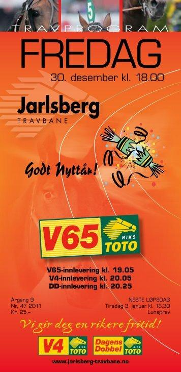 baneprogram - Jarlsberg Travbane
