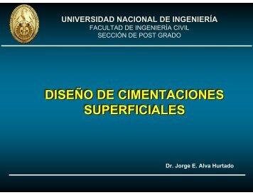 Diseño de Cimentaciones Superficiales - Dr. Ing. Jorge Elias Alva ...
