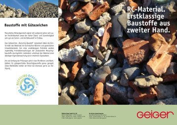 """""""Recycling-Material"""" ( pdf   279,5 KB) - Geiger"""