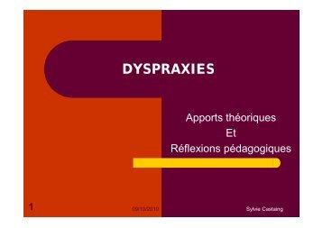 DYSPRAXIES - Sylvie Castaing