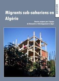 Migrants sub-sahariens en Algérie - Église Catholique d'Algérie