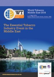 Download the Brochure here - World Tobacco