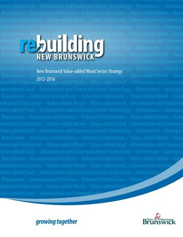 Value-added Wood Sector Strategy - Government of New Brunswick