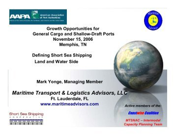 Maritime Transport & Logistics Advisors, LLC - American Association ...