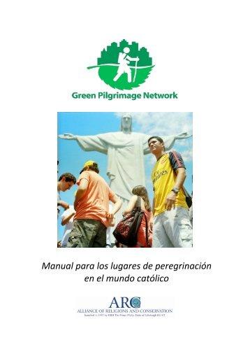 Manual para los lugares de peregrinaci0n en el mundo cat0lico