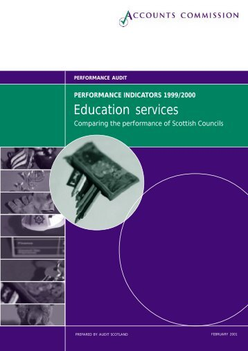 Education services (PDF | 247 KB)Opens in new ... - Audit Scotland