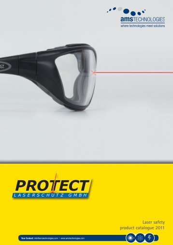 Laser safety product catalogue 2011 - AMS Technologies