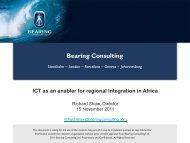 The Bearing Group - EuroAfrica-ICT