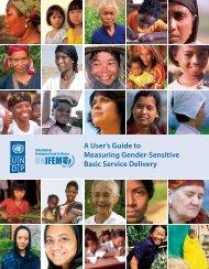 A User's Guide to Measuring Gender-Sensitive Basic ... - DeLoG