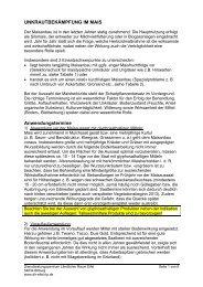 Unkrautbekämpfung im Mais - DLR Eifel