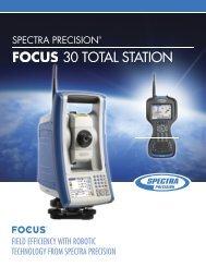 Spectra Precision FOCUS 30 Brochure - Accurate Instruments