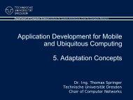 5. Adaptation - Faculty of Computer Science - Technische ...