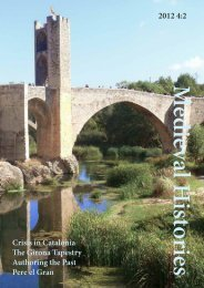 2012 4:2 Crisis in Catalonia The Girona Tapestry ... - Medieval History