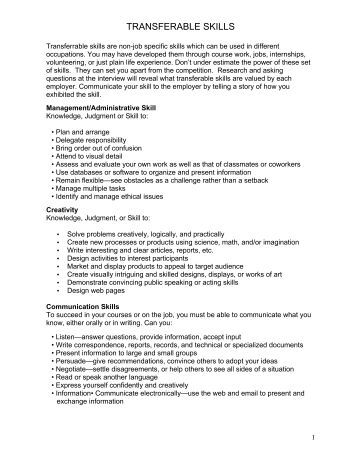 Worksheets Transferable Skills Worksheet evidencing transferable skills in music education