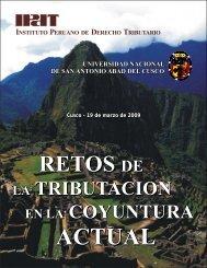 Brochure Forum Cusco - Ipdt.org