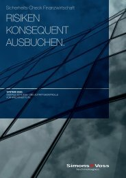 Sicherheits-Check Finanzwirtschaft (PDF) - SimonsVoss technologies