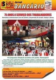 75 anos a serviço dos trabalhadores - Sindicato dos Bancários do ...