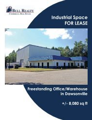 Industrial Space FOR LEASE - Bull Realty