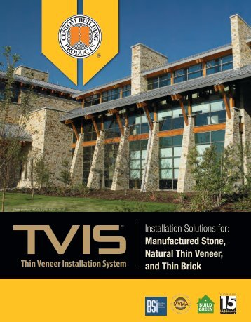 Complete Solutions For The Installation Of Manufactured stone