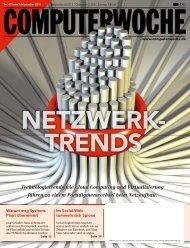 Technologietrends wie Cloud Computing und Virtualisierung führen ...