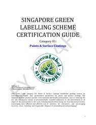 Draft Product Category for Paints and Surface Coatings - Singapore ...