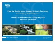 Hydraulic Fracturing Study - Consumer Energy Alliance