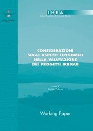 Considerazioni sugli aspetti economici  nella valutazione dei ... - Inea