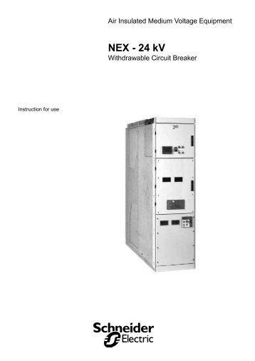 NEX - 24 kV - Schneider Electric