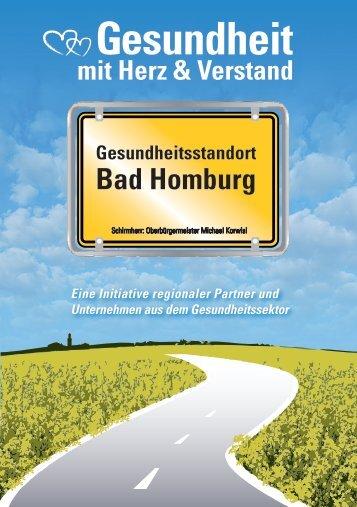 """""""Gesundheitsstandort Bad Homburg"""" - Broschüre"""