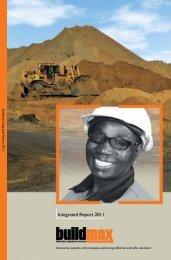 Annual Report 2011 - Buildmax.co.za